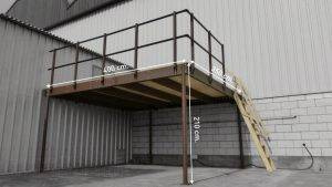 《C1H4》特殊貨架:積層架,夾層,鋼構